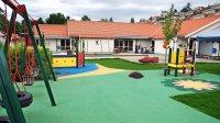 plac zabaw przy przedszkolu